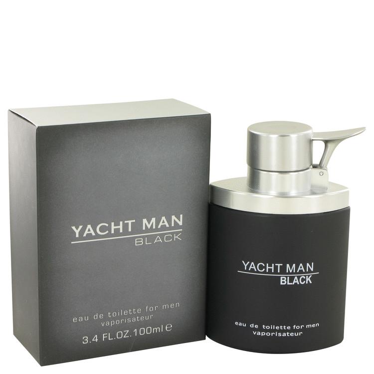 Yacht Man Black by Myrurgia